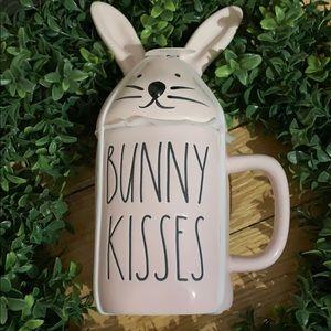 Rae Dunn Pink Bunny Kisses Mug